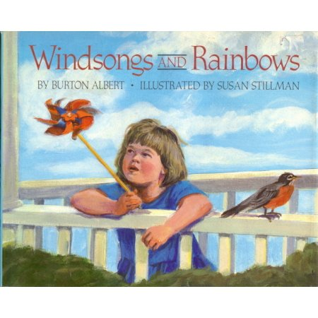 Windsongs and Rainbows Burton Albert Child Picture Book Hardcover
