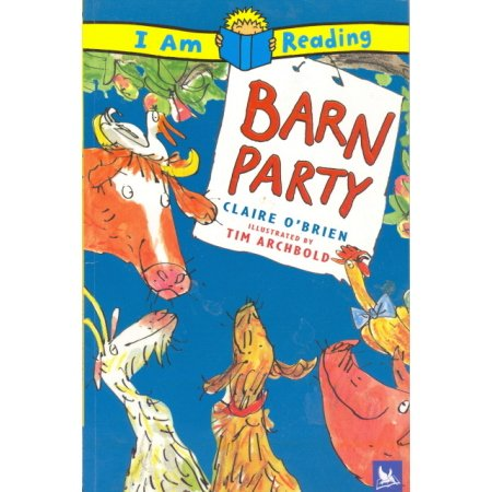Barn Party, O'Brien, Reading Grades 1-3 Educational Childrens Book