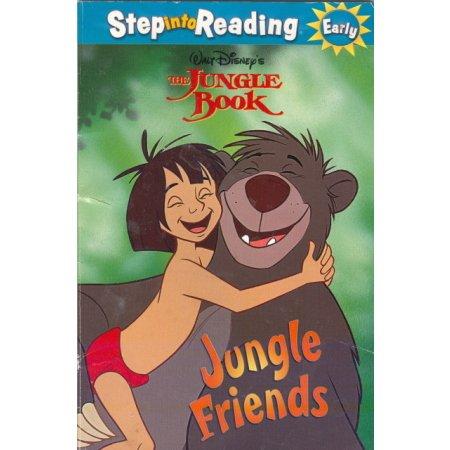 Jungle Book Friends, Disney, Pre-school-K Early Reader Childrens