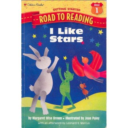 I Like Stars, Wise Brown, Early Reader Golden Books Children Preschool