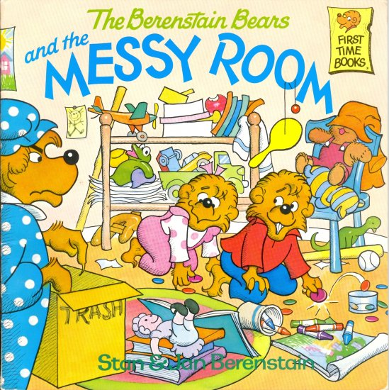 The Berenstain Bears and the Messy Room, Children Picture Book Softcover