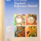 Everyday Mathematics Teacher's Reference Manual, Grades K-3, home school Everyday Learning Corp