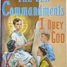 The Ten Commandments, I Obey God, Fr. Lovasik, St Joseph Picture Books, Religious Education