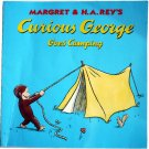Curious George Goes Camping, by H A Rey, Children Softcover Classic