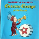 Curious George at the Parade, by H A Rey, Children Softcover Classic