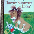 The Tawny Scrawny Lion, Kathryn Jackson, Golden Books, Hardcover Children Picture
