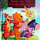 Winnie the Pooh's Friendly Adventures, A Read Aloud Story Book, Disney, Hardcover