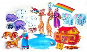 Felt Board Set, Noahs Ark, Educational Developmental Religious