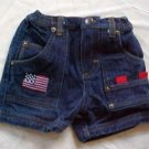 US Polo Assn. Denim Jean Shorts for Boy 6-9 MO