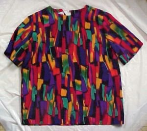 Beautiful Polyester Shell Shirt Blouse for Home or Office Size: Small