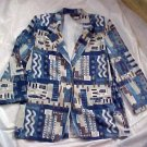 CC Magic Blended Polyester Blazer Jacket  Size: 10P