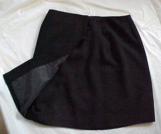 Black Womens Wrap Around Skirt by Style & Co. Size 16P