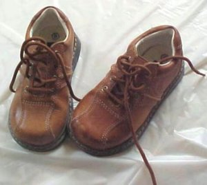 Leather Oxford Shoes for Boys Size 8 by George - Free Shipping