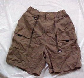 Womens Suisse Sport Nylon Cargo Shorts Size: Small