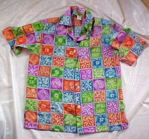 Jordan Bright and Beautiful Polyester Blouse for Summer  SIZE: Small