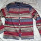 Womens Chrater Club Cotton Knit Shirt Blouse Sweater SIZE: Medium