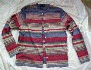 Womens Chrater Club Cotton Knit Shirt Blouse Sweater SIZE: Medium
