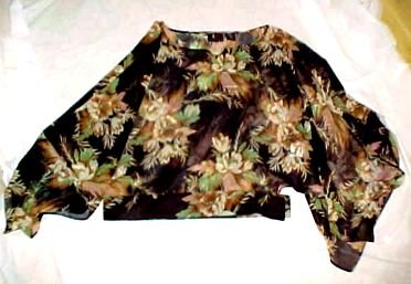 New With Tag Sheer Over Blouse with Butterfly Sleeves SZ: Small