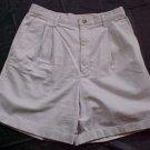 Eddie Bauer Classic Fit Womens Khaki Shorts - Size10