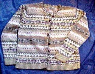North Style Womens Alpine Knit Sweater - Size Medium