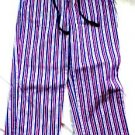 Bailey's Point Stripped Cropped Capris for Summer - Size 12
