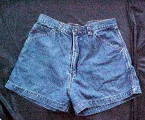Jordache Faded Demin Ladies Shorts