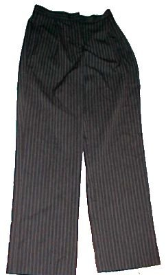 Liz Claiborne Kylie Pin Stripe Trouser Slacks for Dress - Size: 6