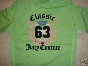 NWT Juicy Couture Classic 63 Set - Small, Medium, Large Available- Green