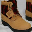 "TIMBERLAND 6"" CLASSIC WHEAT BOOT W/ PLAID PANEL #45026"