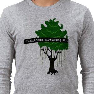 Men's Bangledox Organic L/S T-shirt - Large