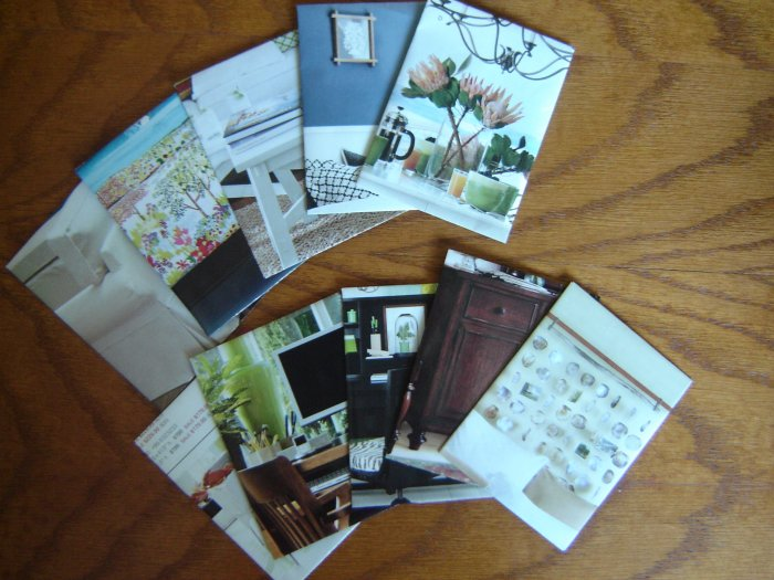 Business card or ACEO/ATC envelopes - set of 10