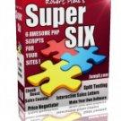 Super Six PHP Scripts