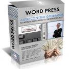Wordpress Auto Content Generator