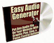 Easy Audio Generator