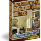 How To Start Your Own Interior Design Business
