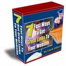 Get Great Links To Your Website