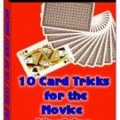 10 Card Tricks