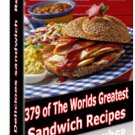 379 Sandwich Recipes