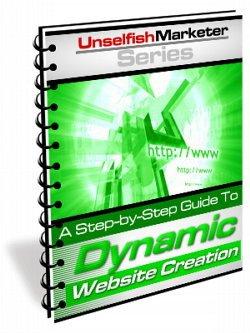 Dynamic Website Creation