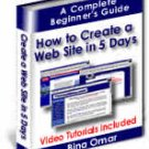How To Create A Website In 5 Days