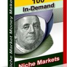 100 In Demand Niche Markets