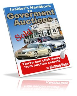 Insiders Handbook To Government Auctions