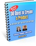 30 Days To Create A Product