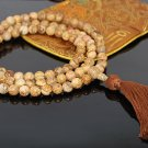 8mm Desert Picture Jasper Mala Beads- 108 beads