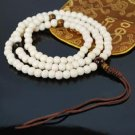 White Bone Mala Prayer Beads