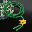 6mm Aventurine Jade Mala Imported