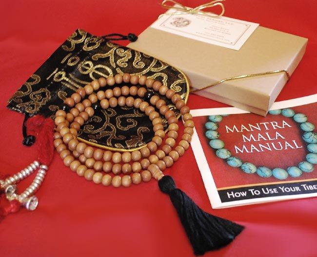 Sandalwood Mala Gift Set