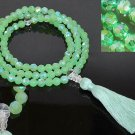 Green Tara Crystal Mala