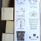 Fun Filled rubber stamp set