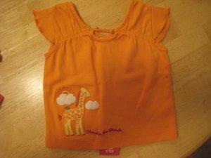 Gymboree Savanna Sunset Orange Giraffe shirt top 3 - 6 mths NWT Savannah